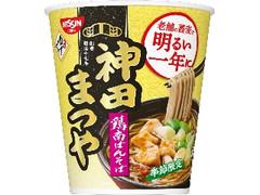 日清食品 神田まつや 鶏南ばんそば カップ92g