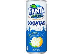 コカ・コーラ ファンタ 世界のおいしいフレーバー ソカタ 缶250ml