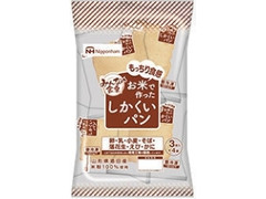 ニッポンハム みんなの食卓 お米で作ったしかくいパン 袋3枚×4