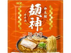 明星食品 麺神 神太麺×旨 味噌 袋119g