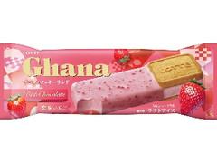ロッテ ガーナ チョコ&クッキーサンド 恋味いちご 袋76ml