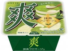 ロッテ 爽 抹茶フロマージュ カップ185ml