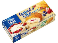 ロッテ カスタードケーキ クリームチーズケーキ ベリー仕立て