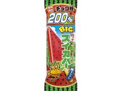 ロッテ BIGスイカバー チョコ種200% 袋125ml