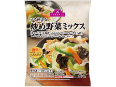 トップバリュ すぐ使える炒め野菜ミックス キャベツ・玉ねぎ・にんじん・ピーマン・きくらげ