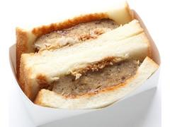 ミニストップ 鉄板焼きハンバーグサンド