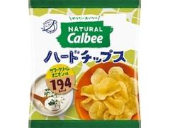 カルビー Natural Calbee ハードチップス サワークリームオニオン味 袋39g