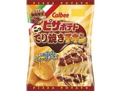 カルビー ピザポテト こってり焼きチキン味 袋73g