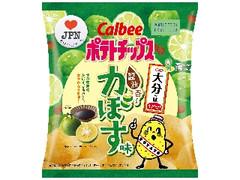 カルビー 大分の味 ポテトチップス 醤油香るかぼす味 袋55g