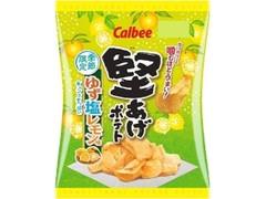 カルビー 堅あげポテト ゆず塩レモン味 袋60g
