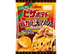 カルビー ピザポテト 旨カラッ!チョリソーPizza風味 袋60g