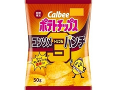 カルビー ポテトチップス コンソメトリプルパンチ 袋50g