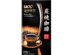 UCC 珈琲探究 炭焼珈琲 袋200g