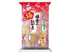岩塚製菓 田舎のおかき 梅味 袋8本