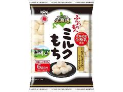 越後製菓 ふんわり名人 北海道ミルクもち 袋10g×6