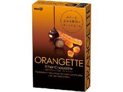 明治 オランジェット ビターチョコレート 箱38g