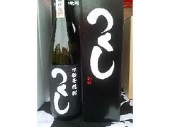 西吉田酒造 本格麦焼酎 つくし 黒ラベル 瓶720ml