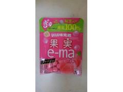 UHA味覚糖 果実e‐ma ピーチ味 袋20g