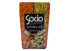 ソシオ ラスクキューブ スモークベーコン味 袋50g