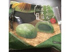 ファミリーマート ひとくち抹茶大福 4個