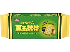 日清シスコ ココナッツサブレ 薫る抹茶 袋5枚×4