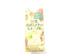 スジャータめいらく 豆乳 マカダミアナッツ&メープル