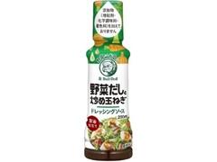 ブルドック 野菜だしと炒め玉ねぎドレッシングソース ボトル200ml