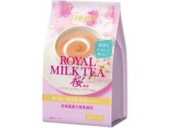 日東紅茶 ロイヤルミルクティー桜風味 袋14g×10
