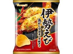 山芳製菓 ポテトチップス 伊勢えび 焦がしマヨネーズ焼き味 袋60g