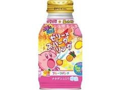 DyDo ぷるっシュ!! ゼリー×スパークリング フルーツパンチ 星のカービィパッケージ ボトル缶270g