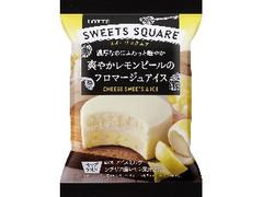 ロッテ SWEETS SQUARE 爽やかレモンピールのフロマージュアイス 袋120ml
