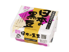 小杉食品 都納豆 日本の黒豆 パック40g×2