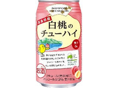 合同酒精 NIPPON PREMIUM 福島県産白桃のチューハイ 缶350ml