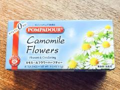 ポンパドール カモミールフラワー 箱1.5g × 10