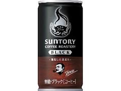 サントリー ボス サントリーコーヒーロースタリーズ ブラック 缶185g