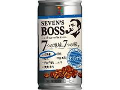セブンプレミアム セブンズボス オリジナル 北海道 缶185g