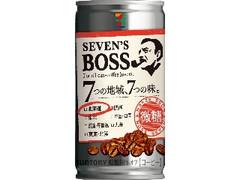 セブンプレミアム セブンズボス 微糖 北海道 缶185g