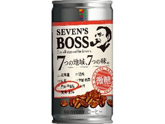 セブンプレミアム セブンズボス 微糖 関東・甲信越 缶185g
