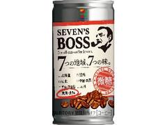セブンプレミアム セブンズボス 微糖 東海・北陸 缶185g