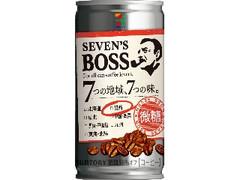 セブンプレミアム セブンズボス 微糖 関西 缶185g