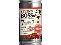 セブンプレミアム セブンズボス 微糖 中国・四国 缶185g