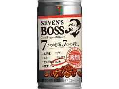 セブンプレミアム セブンズボス 微糖 九州 缶185g