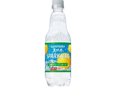 サントリー 天然水スパークリング グレープフルーツ ペット500ml