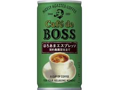 サントリー カフェ・ド・ボス ほろあまエスプレッソ