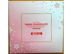 ロイズ 生チョコレート 桜フロマージュ 箱20粒