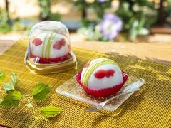 セブン-イレブン 金魚鉢みたいなケーキ しゅわっとラムネソーダ味