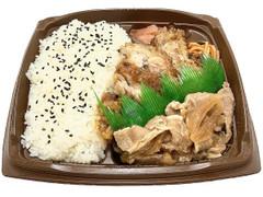 セブン-イレブン まんぷく!ピリ辛チキン&豚生姜焼弁当