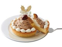 モロゾフ クリスマス モンブランのチーズケーキ