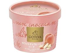 ゴディバ カップアイス ホワイトチョコレートピーチ カップ100ml