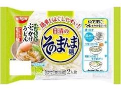 日清食品チルド 日清のそのまんま麺 柚子おろしぶっかけうどん 袋430g